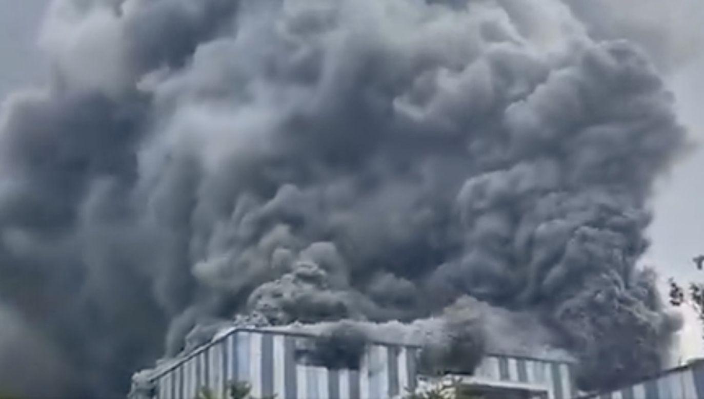 Pożar został ugaszony (fot. tt/@zipdentallab)