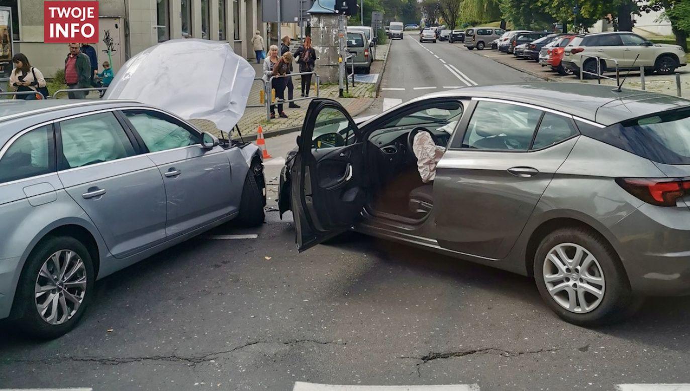 Na miejscu nie ma już utrudnień w ruchu drogowym (fot. Twoje Info)