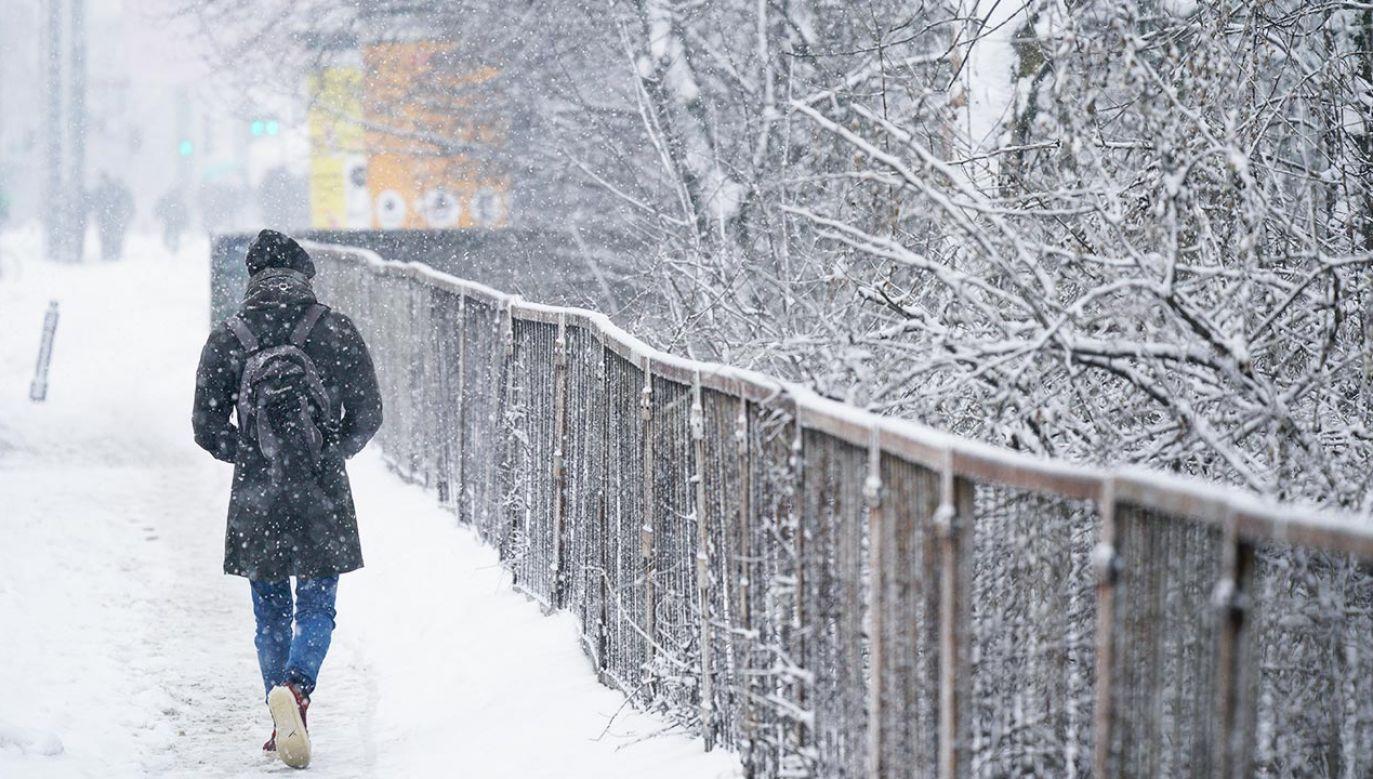 Zima nie powiedziała jeszcze ostatniego słowa (fot. Jaap Arriens/NurPhoto via Getty Images)