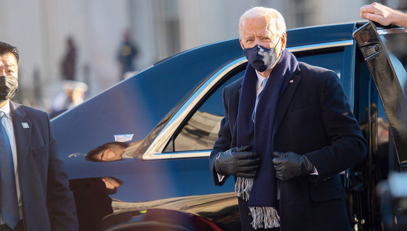 Joe Biden (fot. Mark Makela/Getty Images)