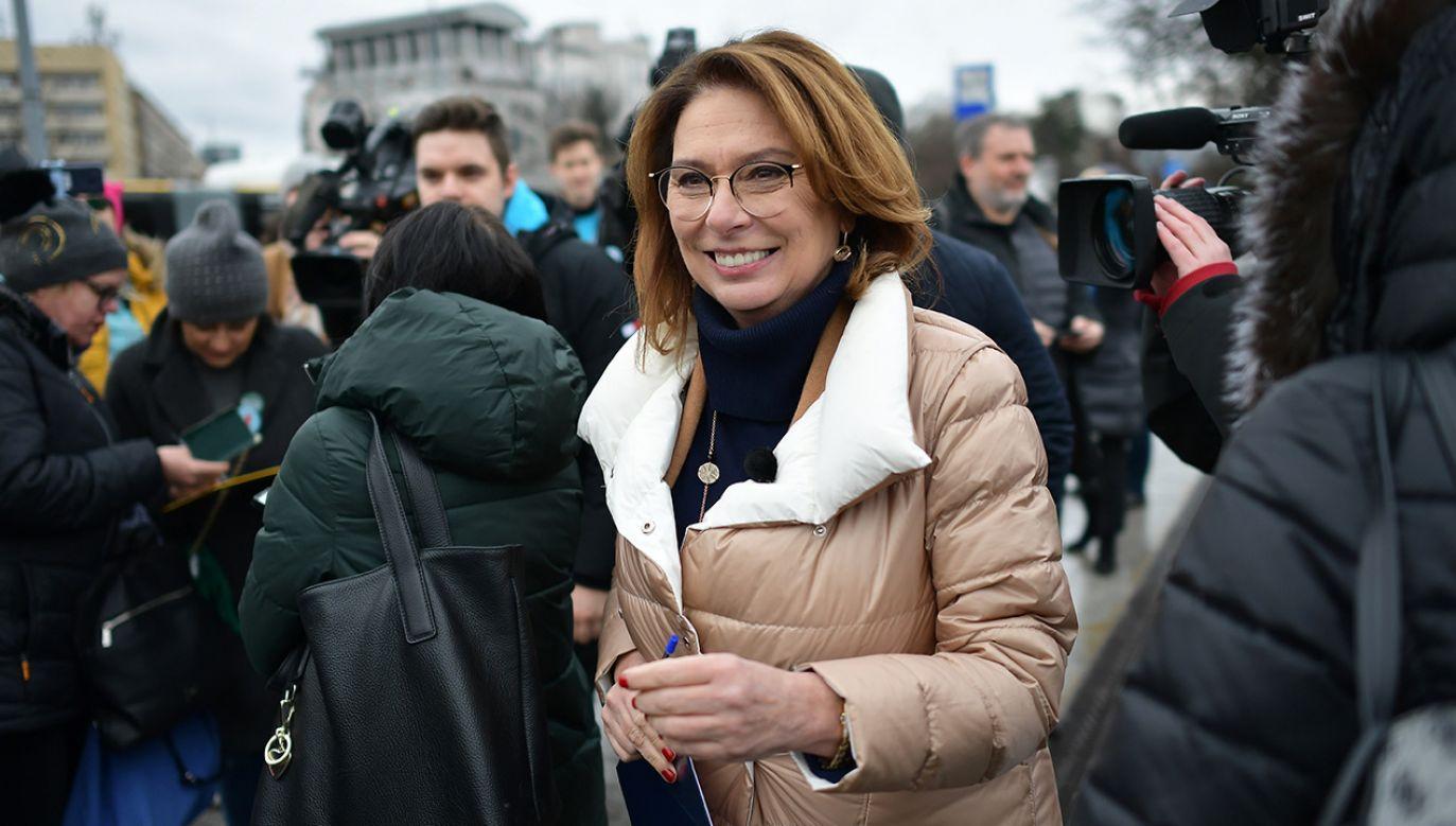 Kidawa-Błońska miała wiele okazji, by głosować za przekazaniem dodatkowych środków na onkologię (fot. PAP/Marcin Obara)