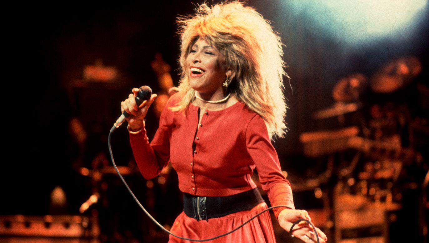 W 2007 roku Tina Turner zaprzestała koncertowania (fot. Paul Natkin/Getty Images))