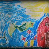 Jaś Mikulski (6 lat) namalował trzy portrety...