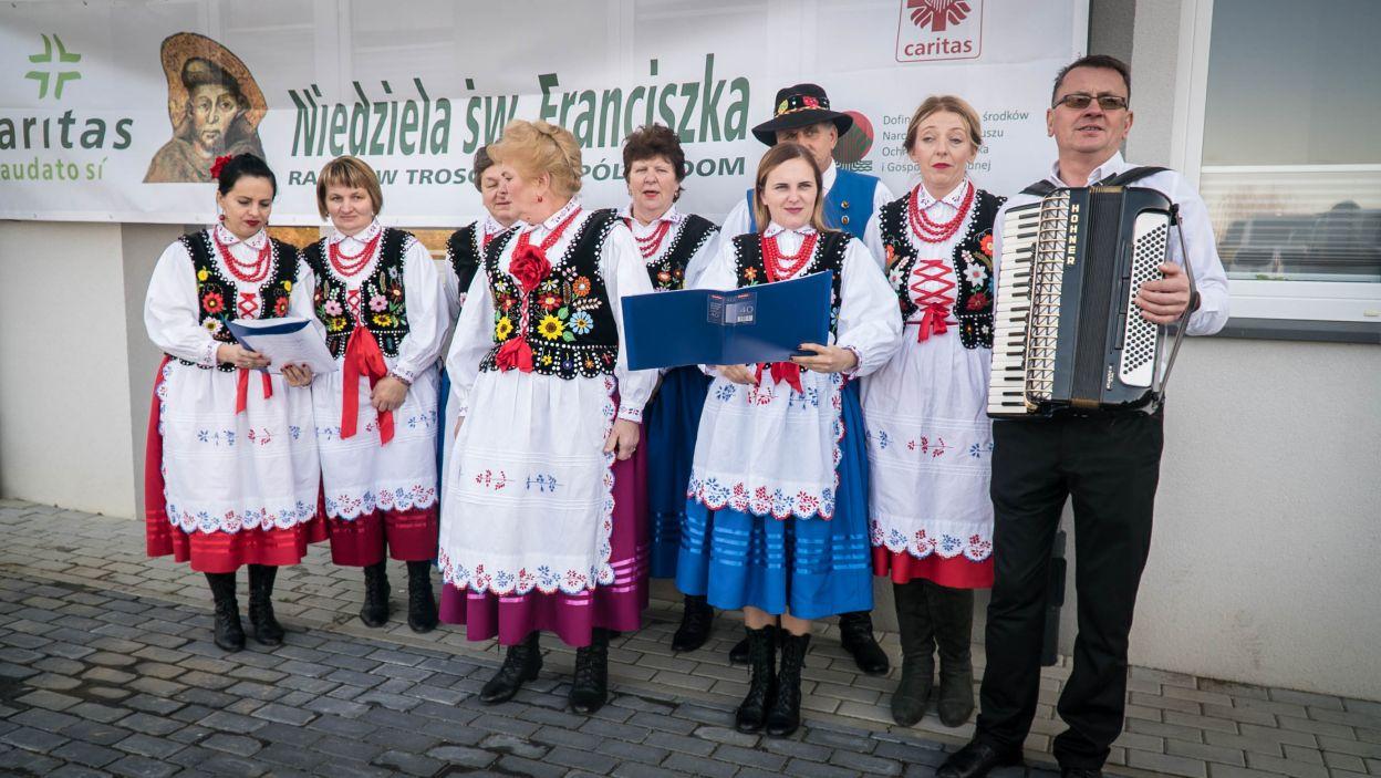 Tak natomiast było w Sanoku (fot. materiały Caritas Polska)