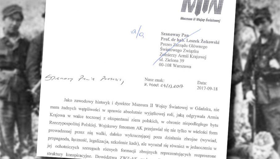 Dyrektor MIIWŚ dr Karol Nawrocki obiecuje wyeliminowanie błędów (fot. wiki/tvp.info)