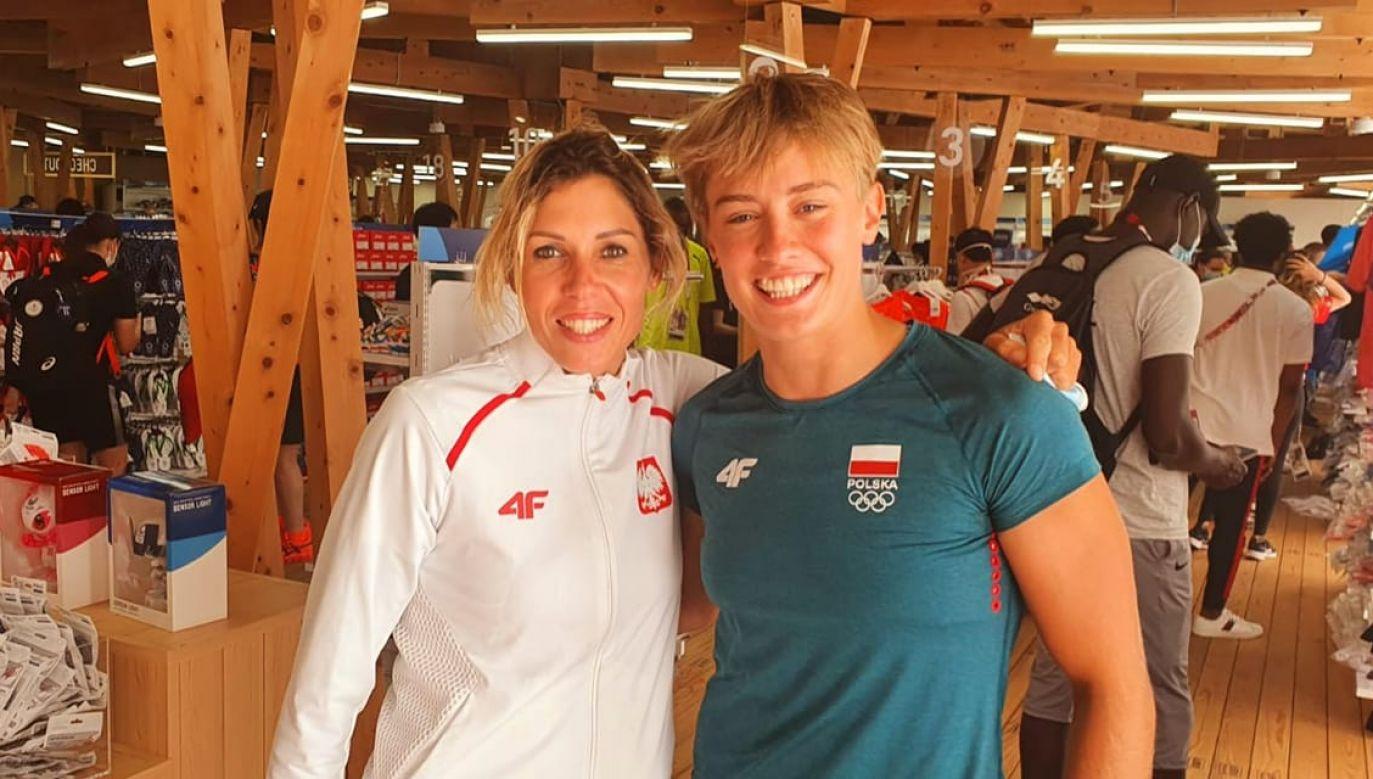 Zofia Noceti-Klepacka i Katarzyna Zillmann na wspólnym zdjęciu z Tokio (fot. Facebook.com)