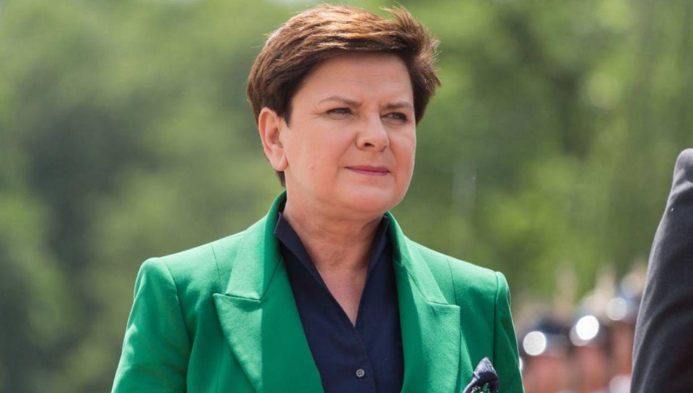 Była premier po wyroku sądu (fot.Mateusz Wlodarczyk/NurPhoto via Getty Images))