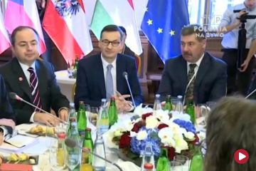 Szefowie rządów państw Grupy Wyszehradzkiej spotkali się w Pradze