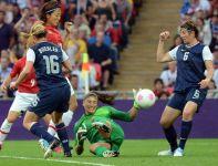 Amerykanki wygrały finał olimpijski w piłce nożnej kobiet (fot.Getty Imges)
