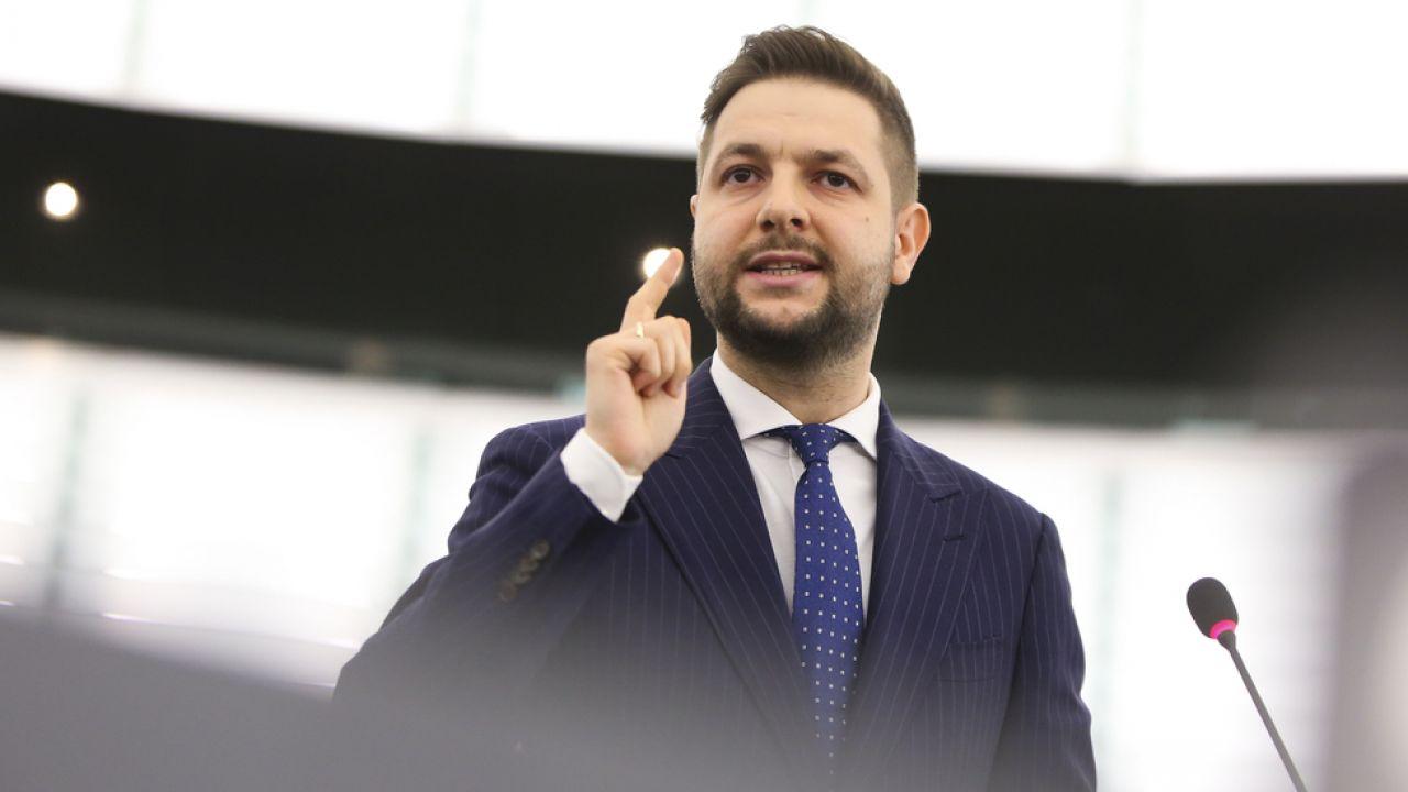Patryk Jaki (fot. European Union 2019, EP, Fred MARVAUX)