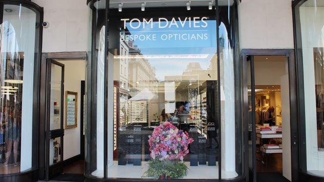 Ukradziono okulary Cruelli de Mon ze sklepu Toma Daviesa (fot. Shutterstock)