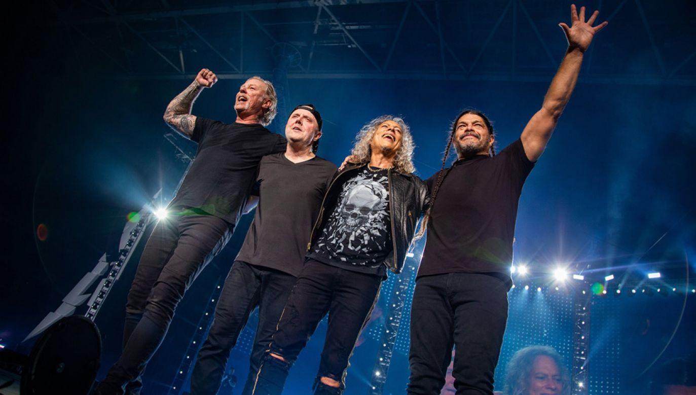 Metallica to legenda ciężkiego grania, zespół występuje od niemal 40 lat (fot. mat.pras.)