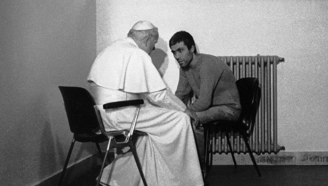 Jan Paweł II przebaczył zabójcy (fot. GettyImages)