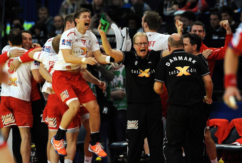 Poprzedni tytuł Dania zdobyła w 2008 roku (fot. PAP/EPA)