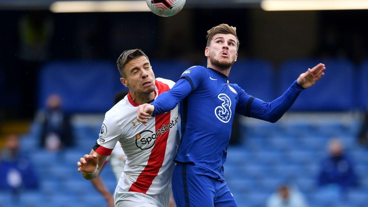 Chelsea – Southampton 3:3. Jan Bednarek bez recepty na Timo Wernera (sport.tvp.pl)