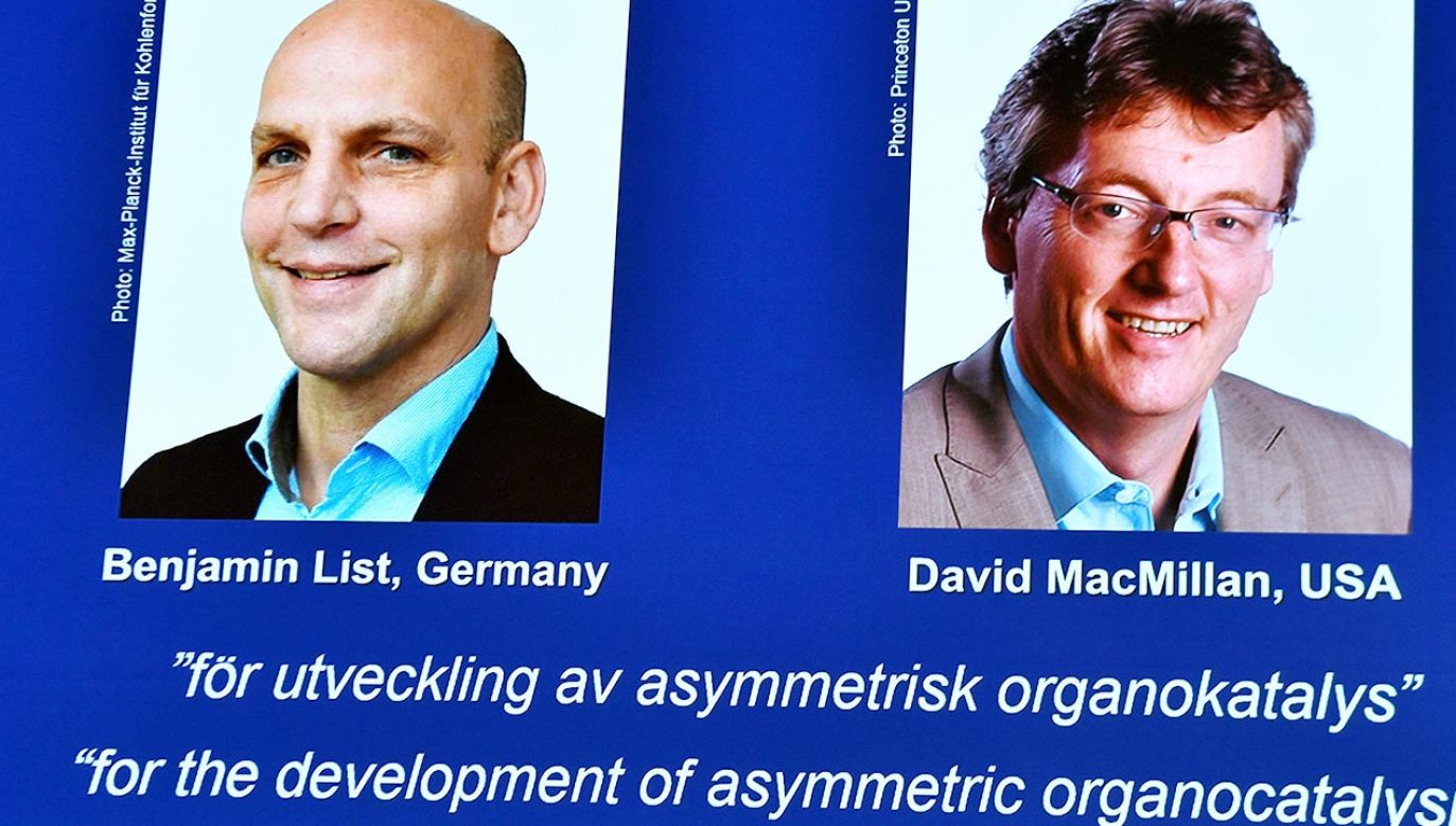 Nagroda Nobla z chemii (fot. PAP/EPA/Claudio Bresciani)