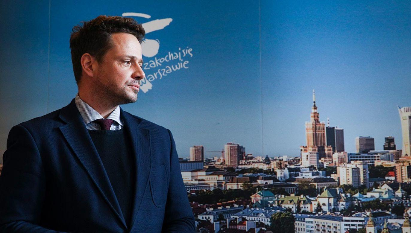 Nieprawidłowości w ratuszu Trzaskowskiego? (fot. Forum/Andrzej Hulimka)
