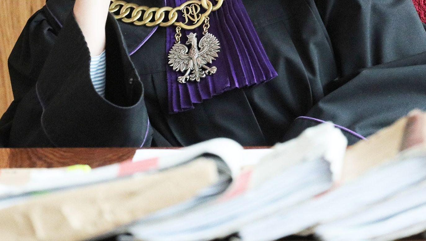Misiewicz domaga się m.in. przeprosin w prasie i 1 mln zł. (fot. PAP/Paweł Supernak)