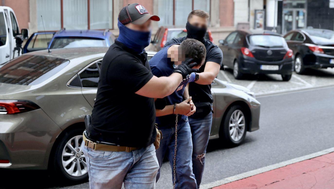 Mężczyzna nie był pod wpływem narkotyków (fot. PAP/Andrzej Grygiel)