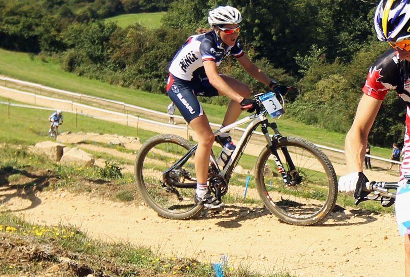 Francuzka Julie Bresset w 2011 roku wygrała Puchar Świata (fot. Getty Images)