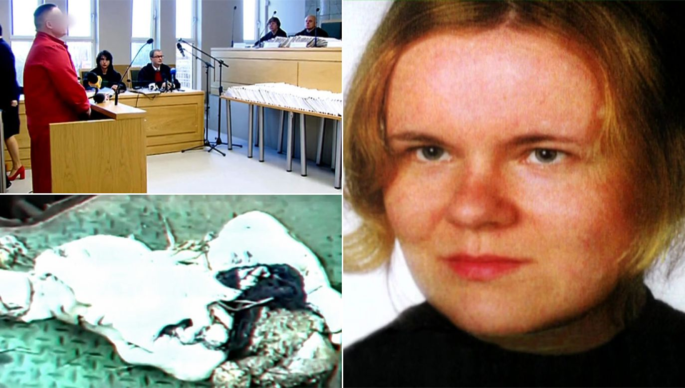 Robert J. nie przyznaje się do zamordowania Katarzyny Z. (fot. TVP1)