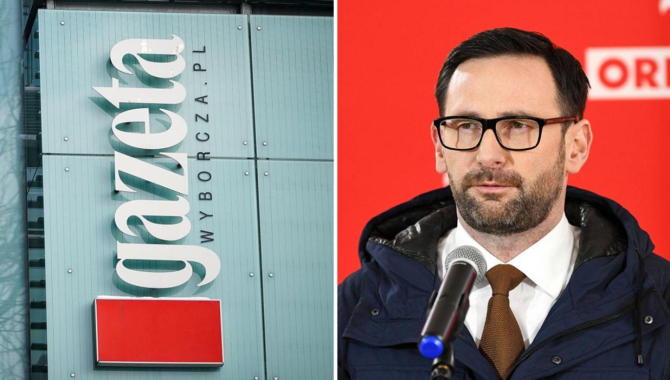 """Publikacje """"Gazety Wyborczej"""" naruszają dobra osobiste prezesa PKN Orlen (fot. Forum/Mateusz Wlodarczyk; PAP/Darek Delmanowicz)"""