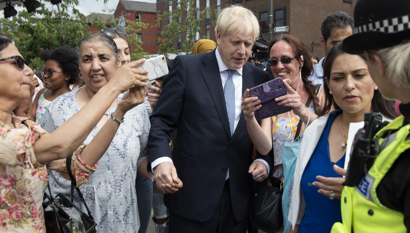 Boris Johnson zapewnia, że zrealizuje brexit (Photo by Geoff Pugh - WPA Pool/Getty Images)