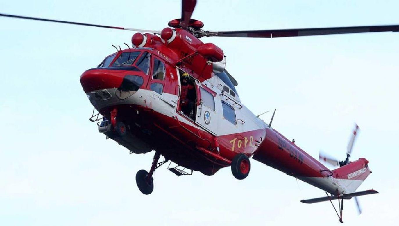 Na pomoc wyruszyły trzy grupy ratowników górskich (fot. arch. PAP/Grzegorz Momot)