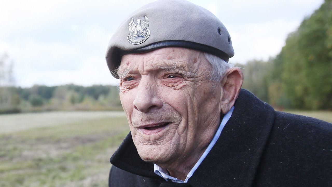 Major Aleksander Tarnawski (fot. arch PAP/Leszek Szymański)