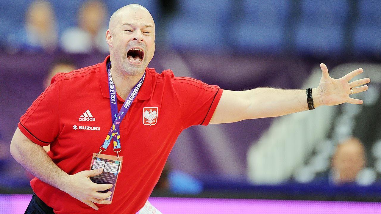 Mike Taylor nie jest już trenerem Polaków (fot. Norbert Barczyk/Press Focus/MB Media/Getty Images)