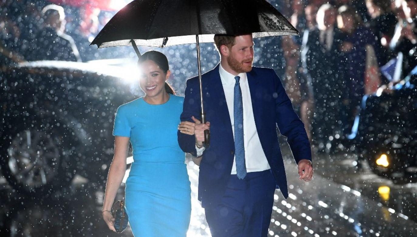 Książę Harry i księżna Meghan najpewniej zamieszkają w Kalifornii (fot. PAP/EPA/NEIL HALL)