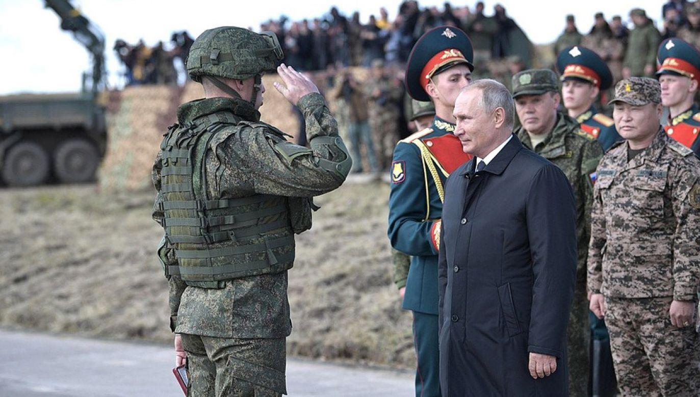 Prezydent Rosji Władimir Putin próbuje odbudować potęgę Związku Radzieckiego (fot. Kremlin.ru)