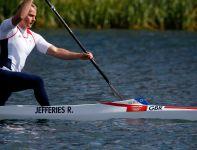 Reprezentant gospodarzy w rywalizacji C1 na 1000 metrów (fot. Getty Images)