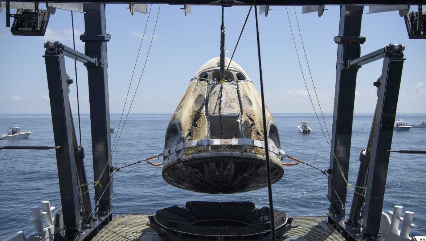 Powrót astronautów na Ziemię przebiegł bezproblemowo (fot. PAP/EPA/Bill Ingalls HANDOUT)