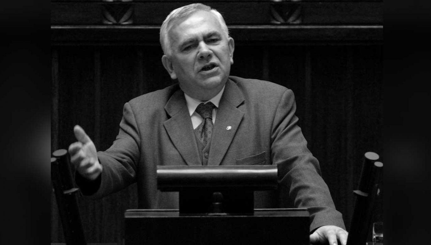 Józef Gruszka był posłem na Sejm II, III i I kadencji (fot. arch. PAP/Piotr Rybarczyk)