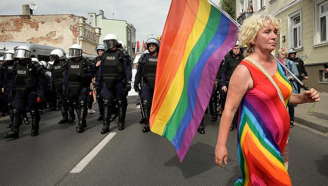 Sąd wskazał, że konstytucja gwarantuje prawo do zgromadzeń (fot. arch. PAP/Wiktor Dąbkowski)
