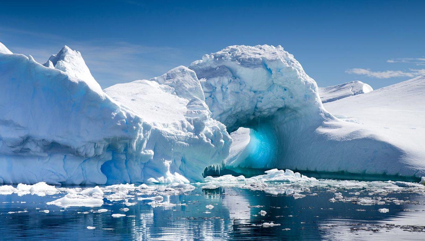 Naukowcy przewiercili się przez grubą warstwę lodu (fot. Shutterstock/robert mcgillivray)