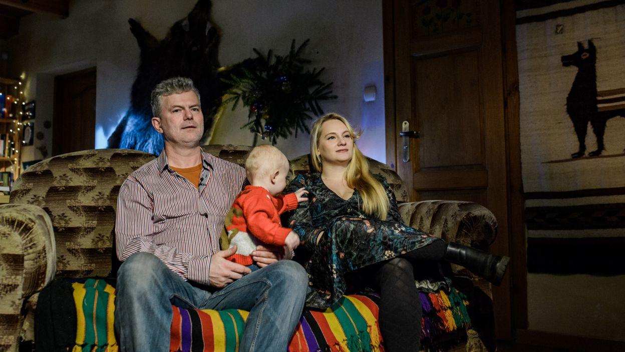Skupiają się na wspólnym wychowywaniu syna – Franka (fot. TVP)