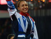 Jessica Ennis została mistrzynią olimpijską w siedmioboju (fot. PAP/EPA)