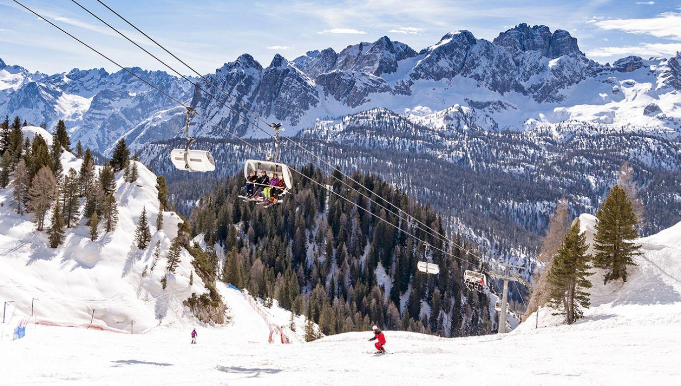 Śnieg w regionie Trydent-Górna Adyga sięga do 40 cm (fot. Shutterstock/Boerescu)