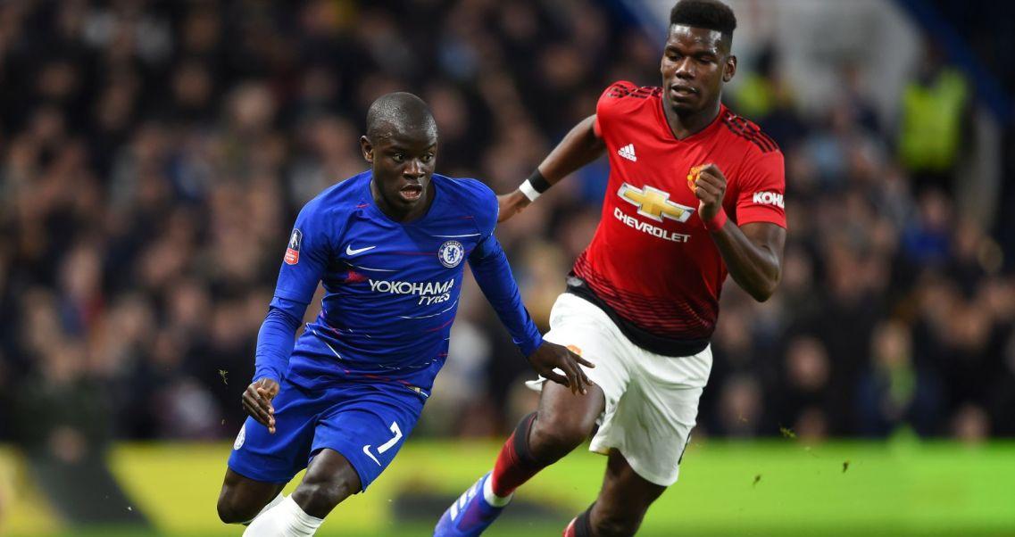 229e5f4a6 Manchester United pokonał Chelsea w Pucharze Anglii. Paul Pogba z ...
