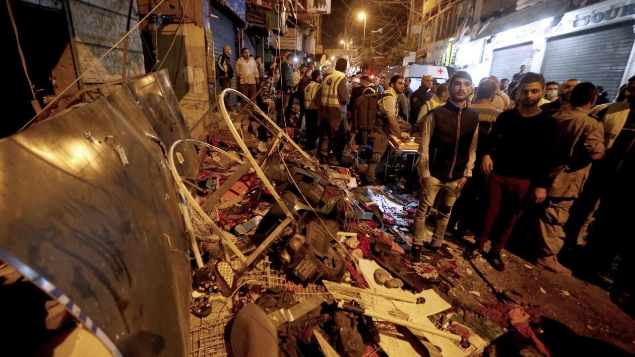 Zamach był wyjątkowo krwawy (fot. PAP/EPA/NABIL MOUNZER)