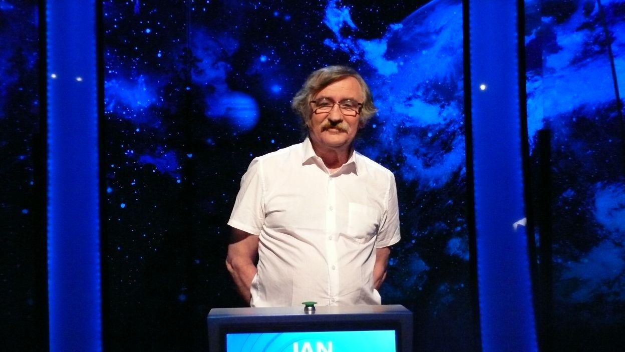 Pan Jan Wolniakowski zdobył nagrodę za największą ilość zdobytych punktów w Wielkim Finale 120 edycji
