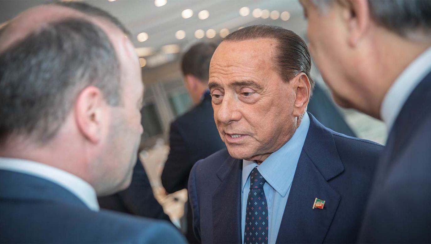 Silvio Berlusconi jest obecnie europosłem (fot. EPP)