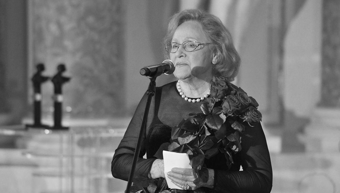 Teresa Żylis-Gara zmarła w wieku 91 lat (fot. TVP/PAP/Jan Bogacz)