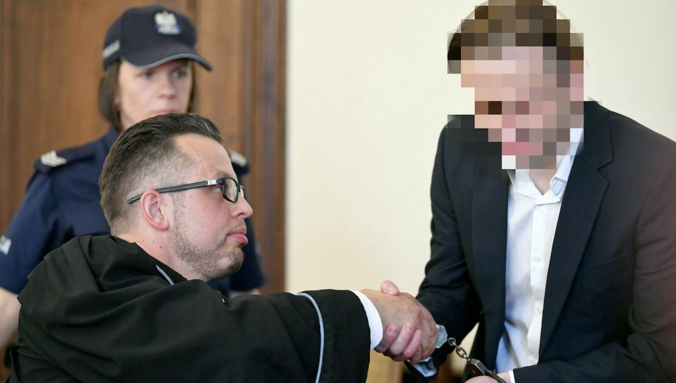 Marcin P. w głównym wątku afery został skazany na 15 lat więzienia (fot. arch.PAP/A.Warżawa)