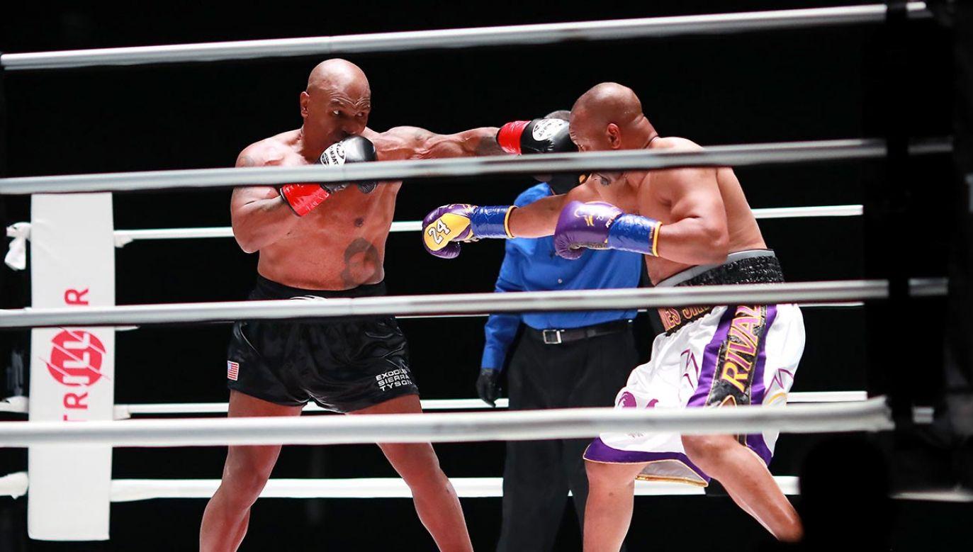 Tyson ma zarobić około 10 mln dolarów (fot. Joe Scarnici/Getty Images for Triller)