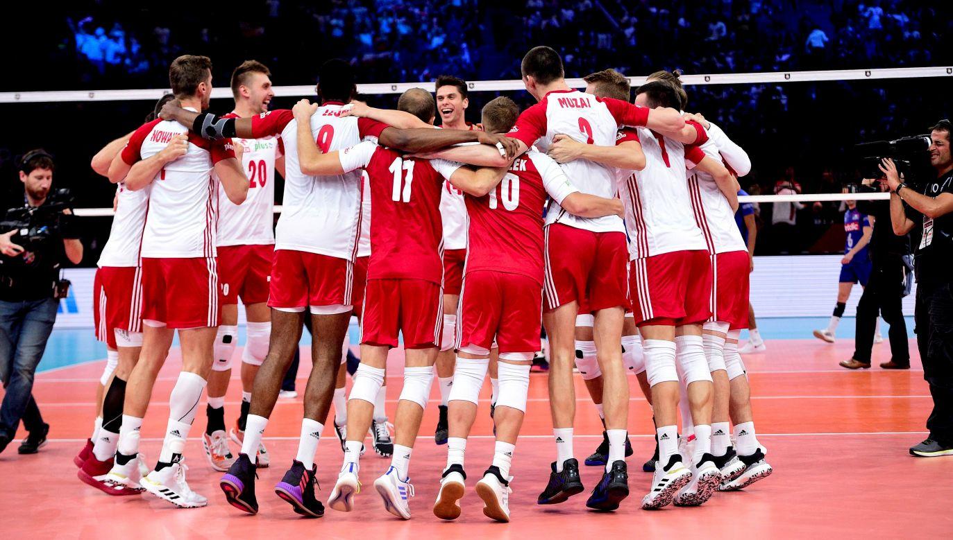 Są powody do radości. Polacy wygrali czwarty mecz w Pucharze Świata (fot. PAP/Panoramic)