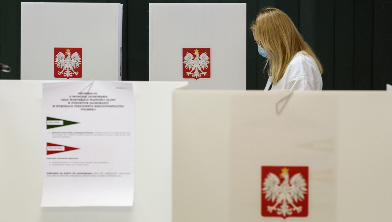 Dane w oparciu o badanie exit poll (fot. Attila Husejnow/SOPA Images/LightRocket via Getty Images)