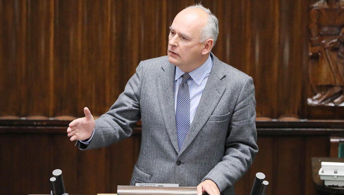 Paweł Zalewski nie będzie walczył o przywrócenie do PO (fot. PAP/Paweł Supernak)